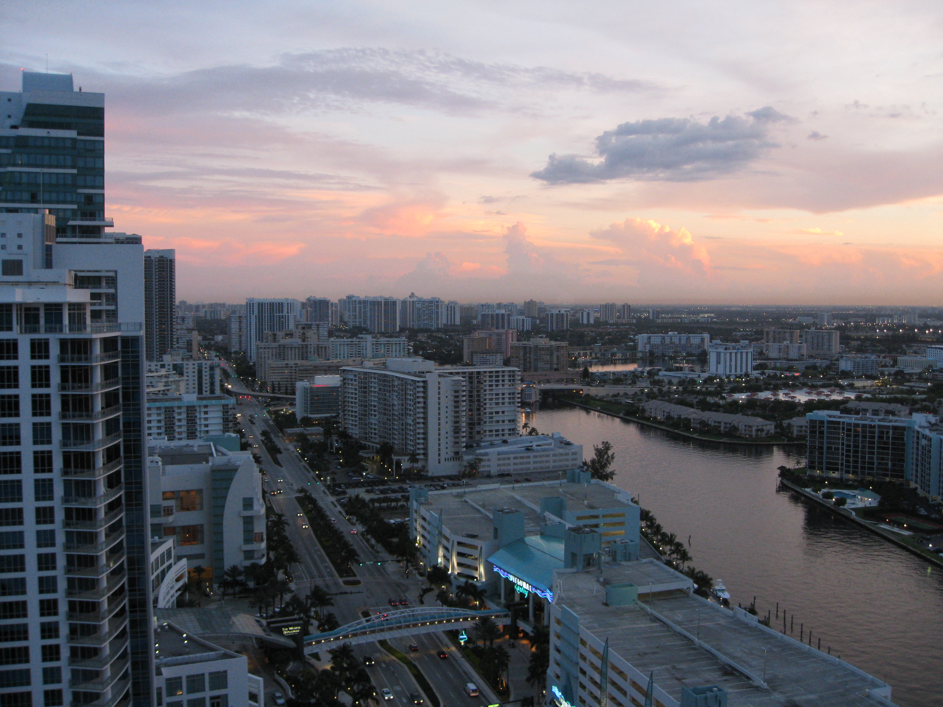 South Miami Sunset